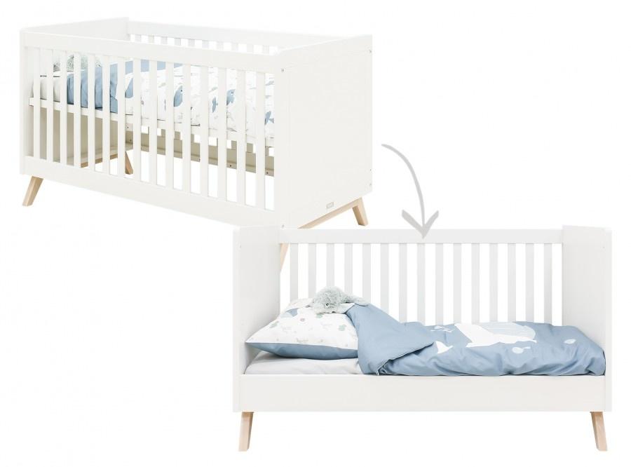 BOPITA BED SOFA 70X140 FENNA WHITE / NATURAL