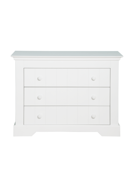 BOPITA CHEST WITH 3 DRAWERS NARBONNE WHITE