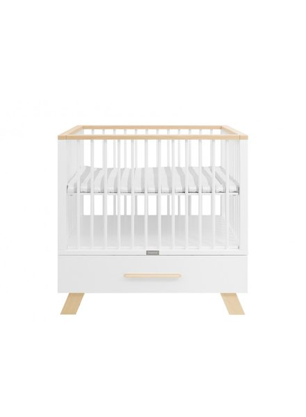 BOPITA BOX LISA WITH DRAWER WHITE / NATURAL