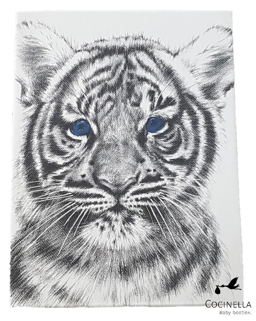 Miss princess Duvet cover bed Tencel Tiger