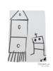 Miss princess Housse de couette lit Tencel Robot