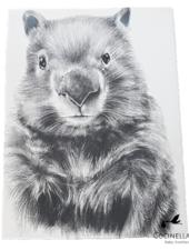 Miss princess Housse de couette lit Tencel Wombat
