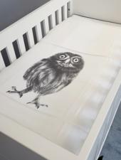 Miss princess Duvet cover bed Tencel Owl