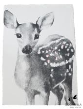 Miss princess Housse de couette lit 1 personne Tencel bambi