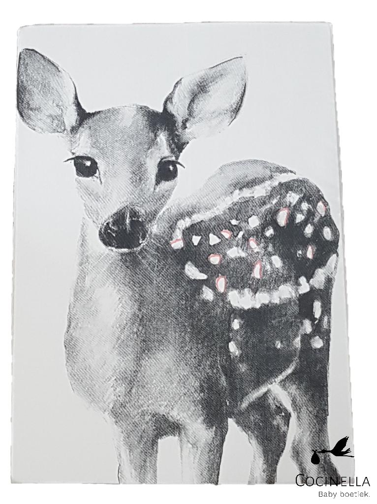 Miss princess Duvet cover bed 1 person Tencel bambi