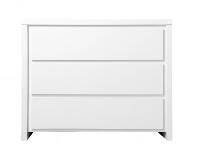 BOPITA CHEST WITH 3 DRAWERS CAMILLE WHITE
