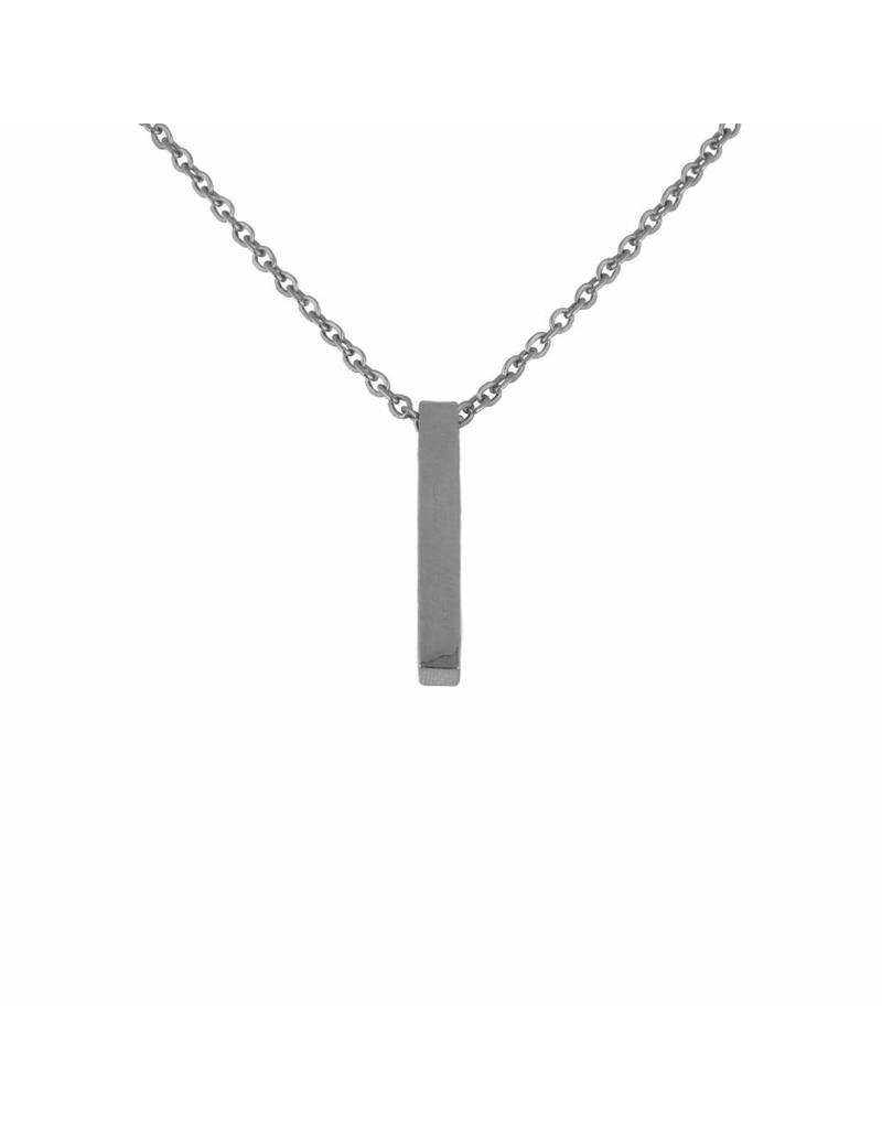 Ketting - Zilveren bar
