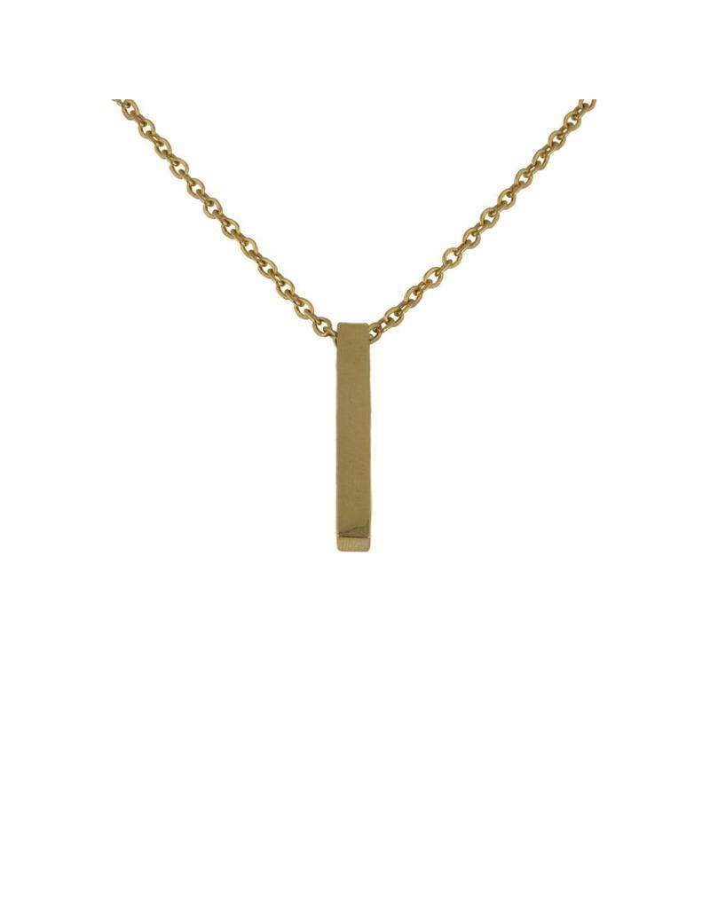 Ketting - Gouden bar