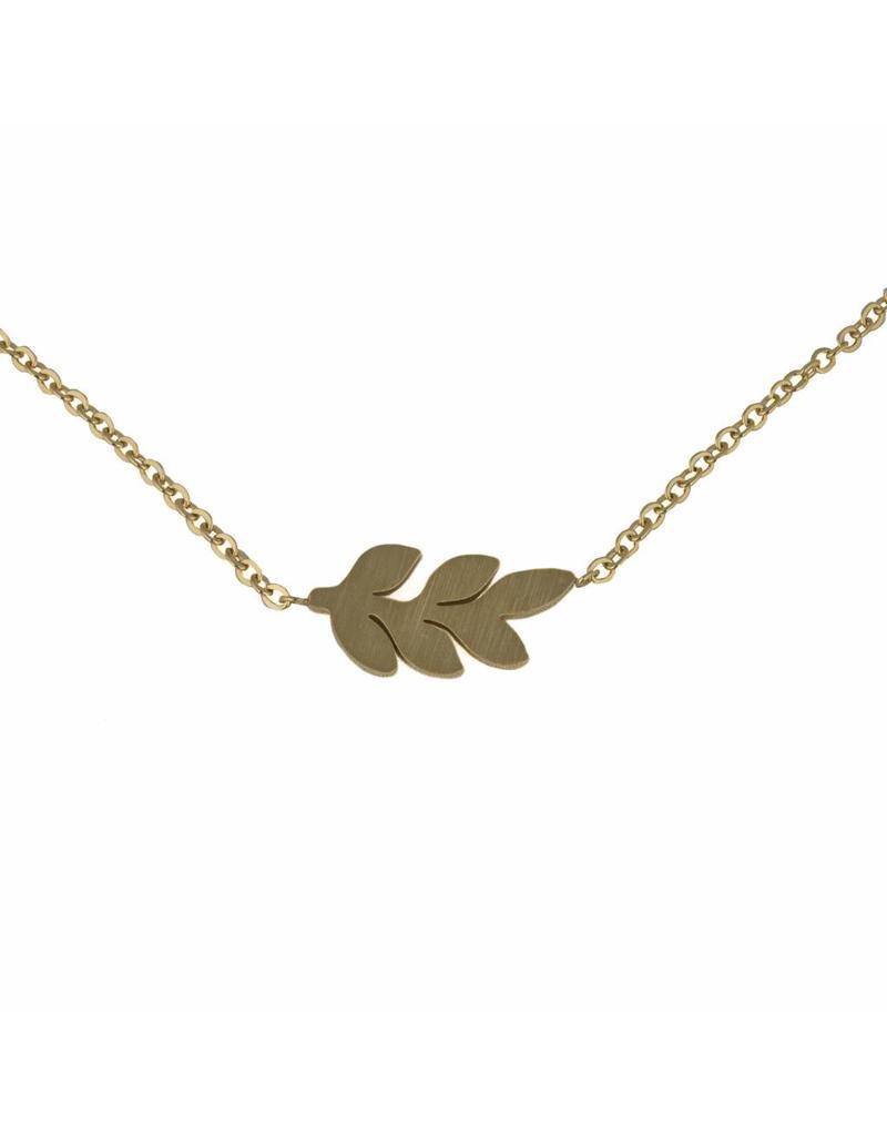 Ketting - Gouden leaf