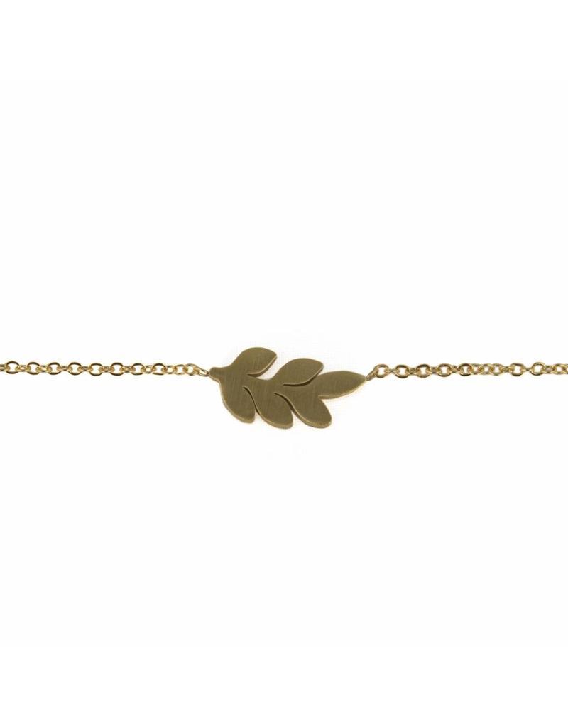Armband - Gouden leaf
