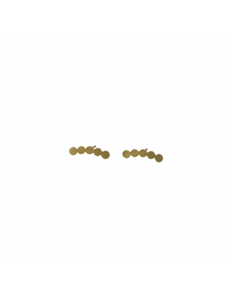 Oorbellen - Gold circles