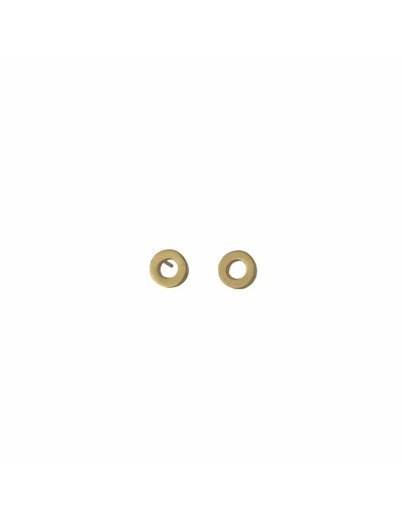 Oorbellen - Gold circle