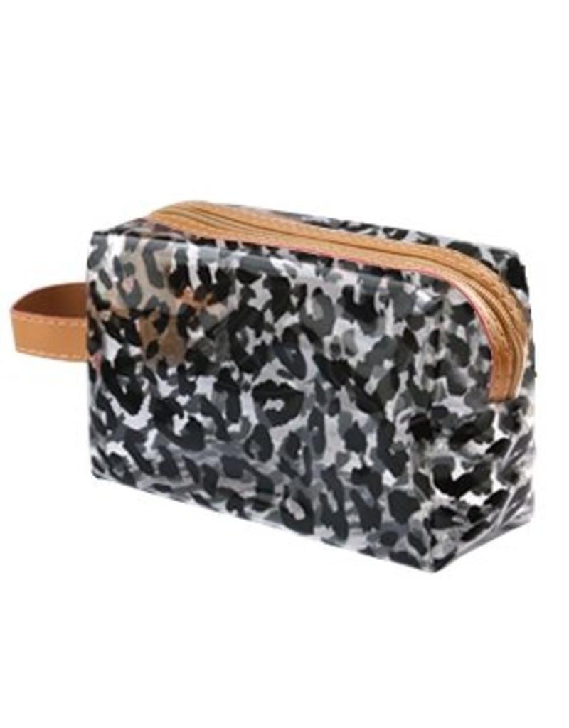 Make-up tasje - Black leopard