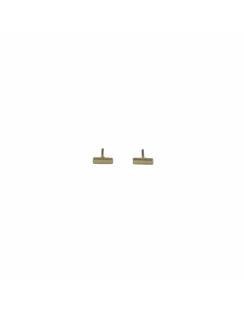Oorbel - Gold bar (s)