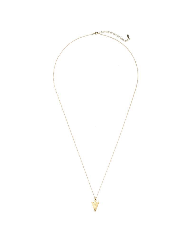 Lange ketting - Silver arrow