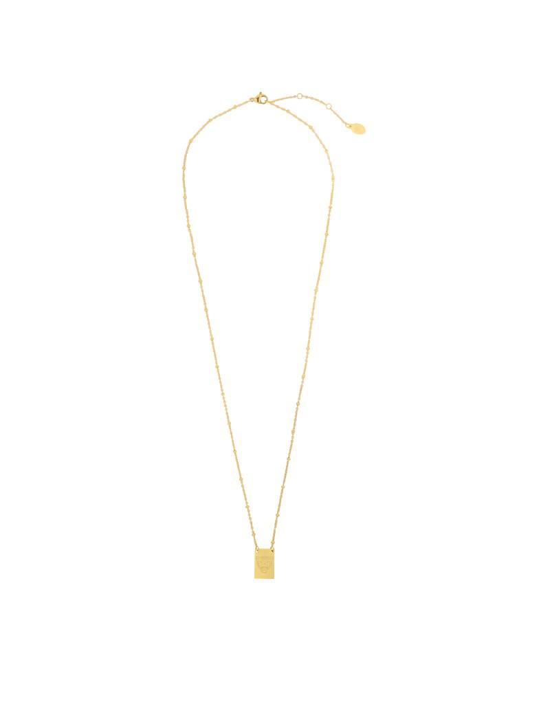 Ketting - Wild tiger gold