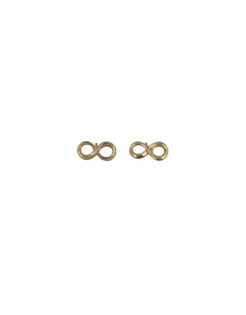 Oorbel - Gold infinity