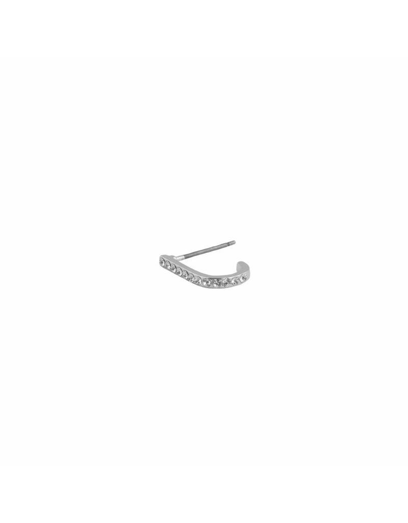 Earsuspender - Silver sparkle