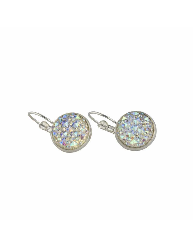 Oorhangers - Pearl sparkle