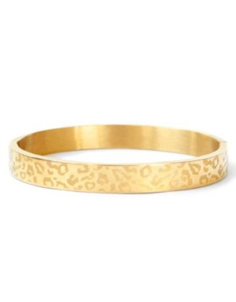 Bangle - Luipaard goud