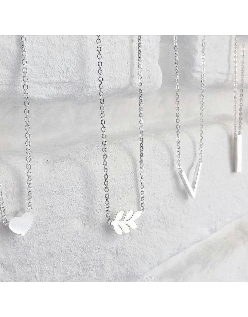 Ketting - Zilver hartje