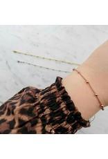 Armband - Roségold dots