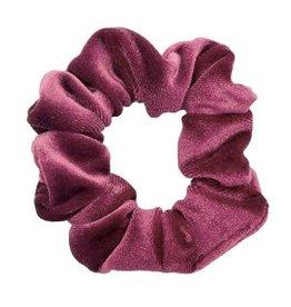 Velvet scrunchie - Pink romance