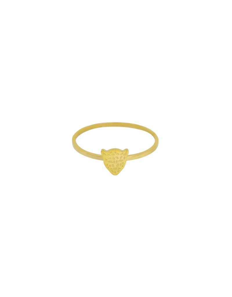 Ring - Gold leopard