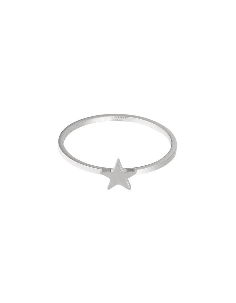 Ring - Silver star