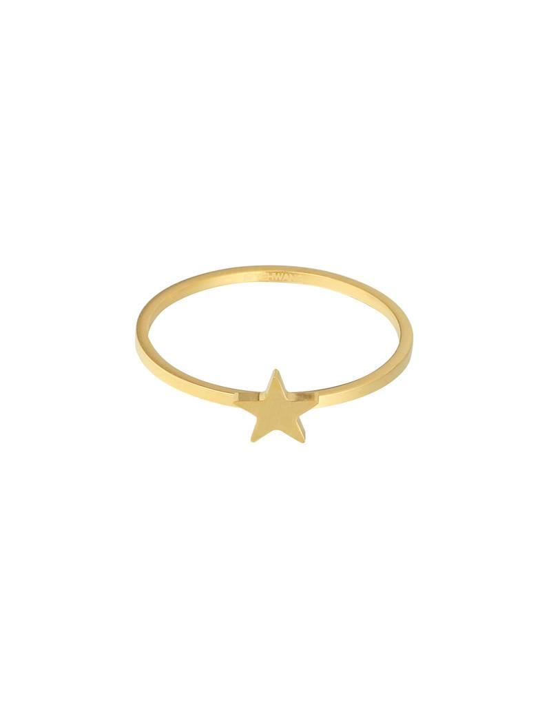 Ring - Gold star