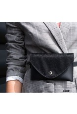 Belt bag - Furry black