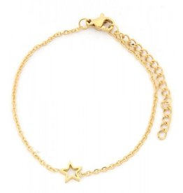 Armband - Gold star