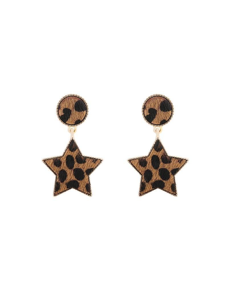 Oorbel - Furry star
