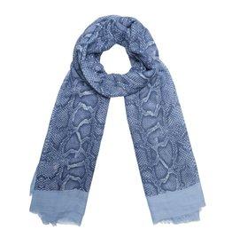 Sjaal - Blue snake