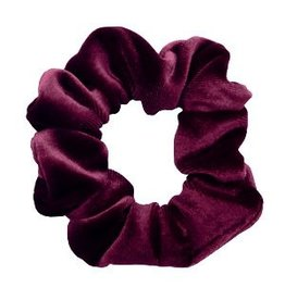 Velvet scrunchie - Dark purple