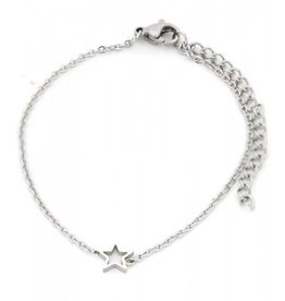 Armband - Silver star