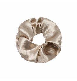 scrunchie - gold satin
