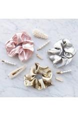 Satin scrunchie - Pink