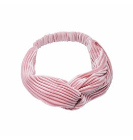 Haarband - Pink velvet