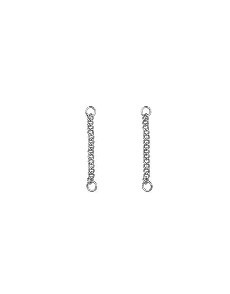 Oorbel kettinkjes - Zilver