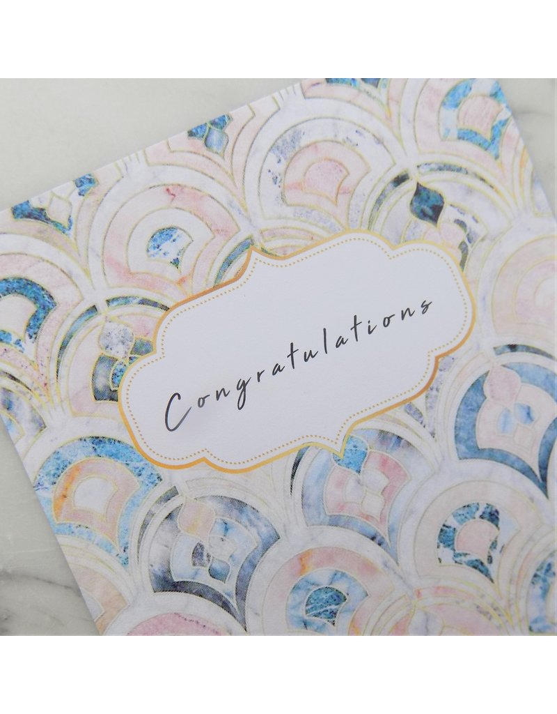 Sieraden wenskaart - Congratulations