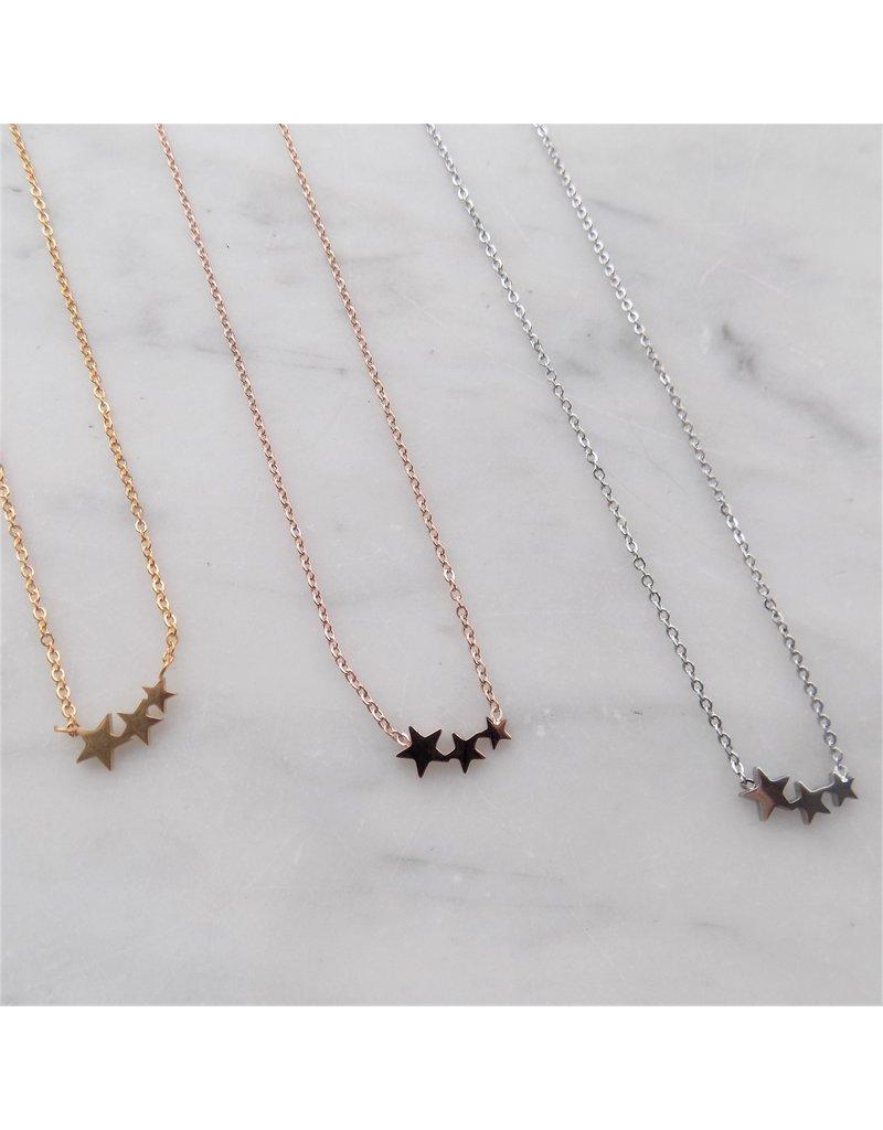 Ketting - Silver stars