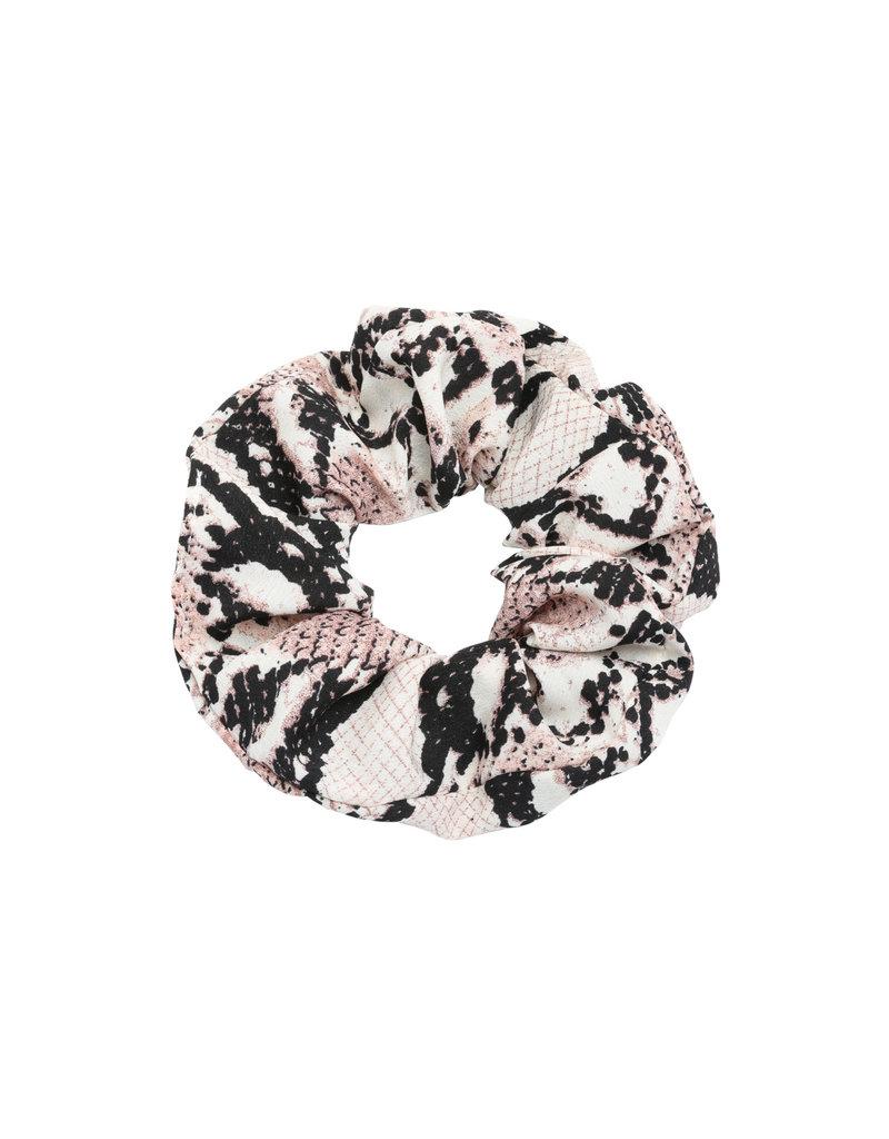 Scrunchie - Beige snake