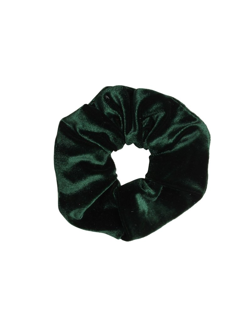 Velvet scrunchie - Green