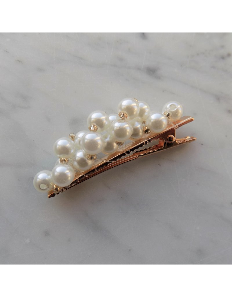 Haarclip - Pearls