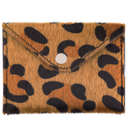 Mini leopard wallet