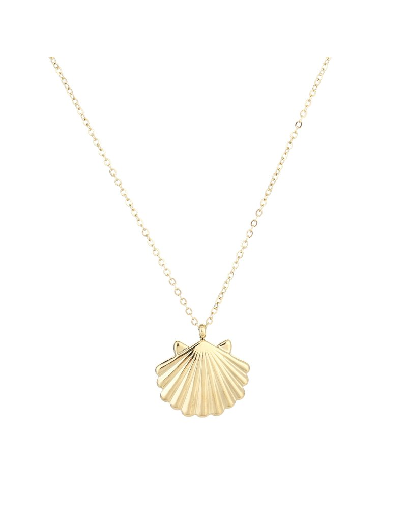 Ketting - Gold shell