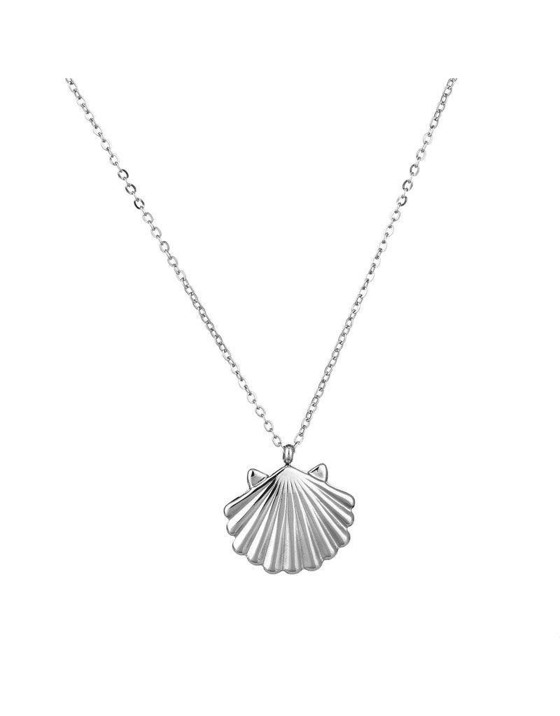 Ketting - Silver shell