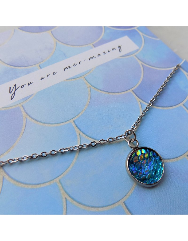 Ketting - Blue mermaid