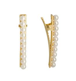 Haarclipjes - Little pearls